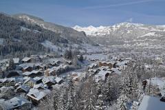 Ausblick auf Gstaad