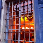 Blick ins Restaurant Palazzo Salis