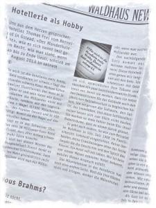 Waldhaus News