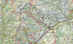 Karte 1:50'000